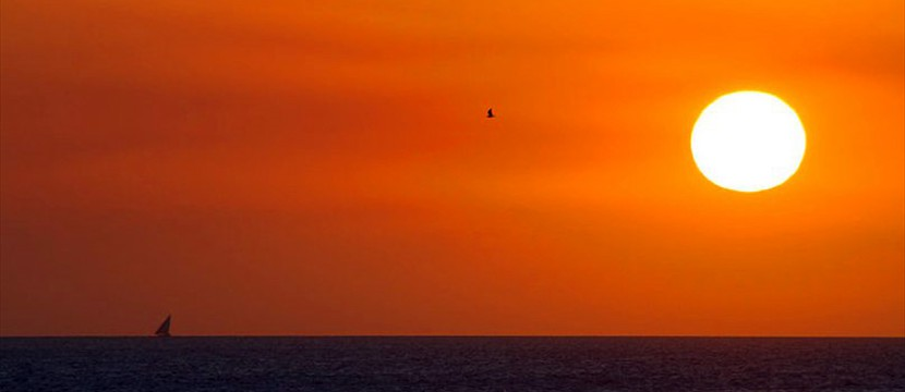 Sunset slideshow using jquery