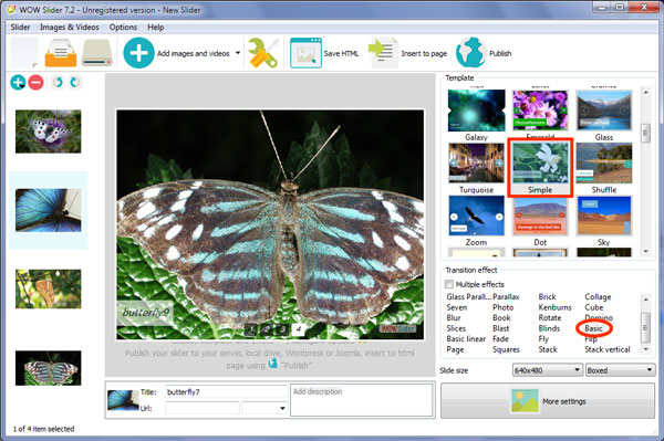Image gallery builder