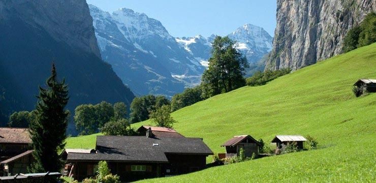 Lauterbrunnen - Switzerland jquery gallery