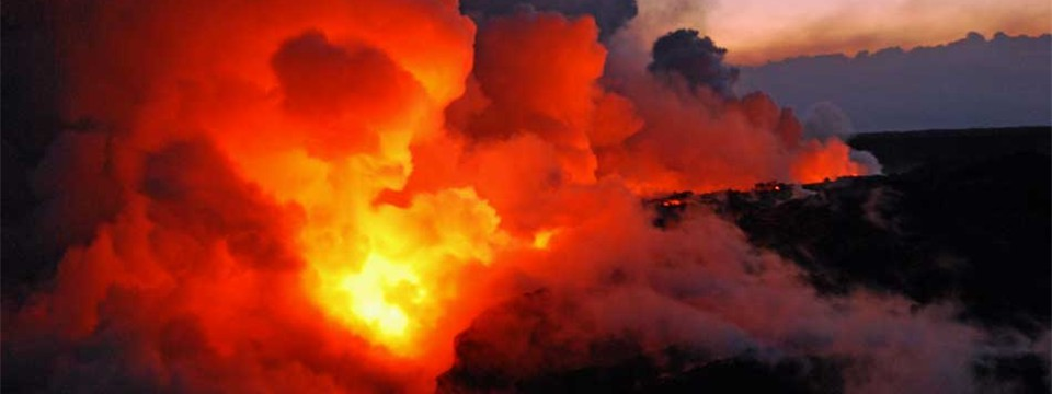 Volcanic eruption - Kīlauea, Hawaii image slideshow javascript