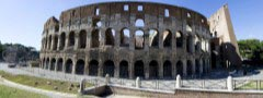 Colosseum - Rome, Italy rotating with links radio buttons