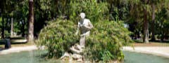 Statue touch horizontal web mobile