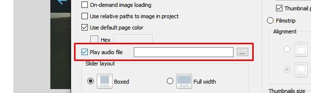 Javascript image slider download