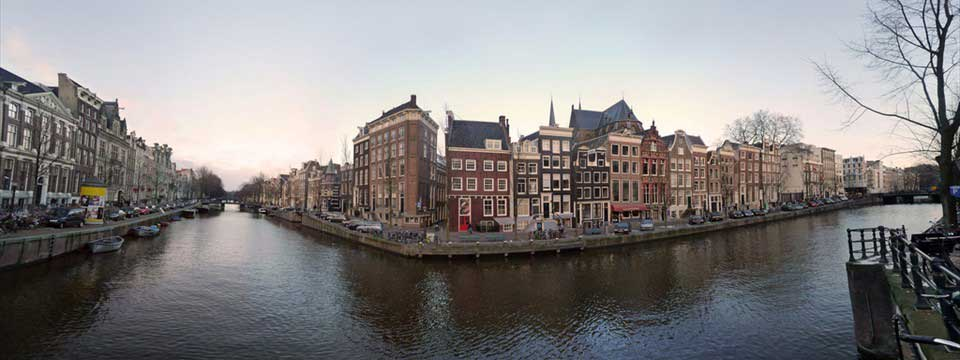 Panorama Herengracht from bridge Leidsegracht free website photo gallery