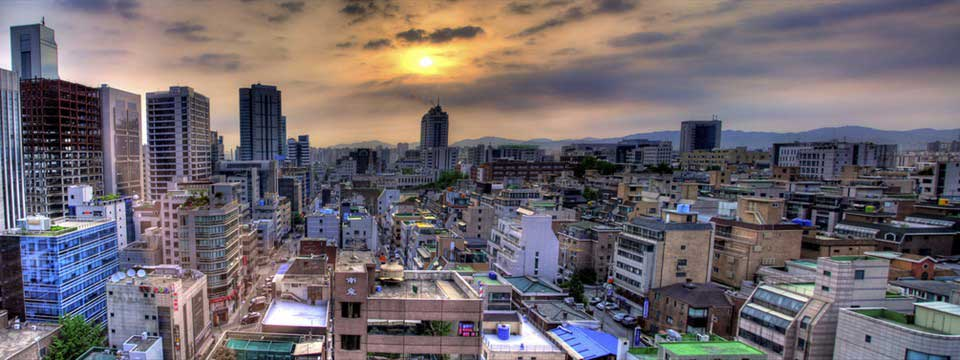 Seoul sunrise free image website gallery