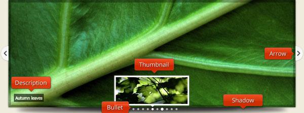 jQuery HTML5 Image Slider