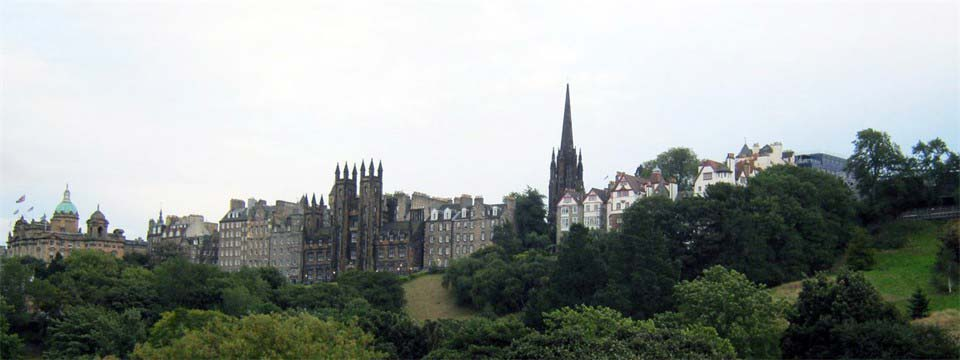 Edinburgh javascript photo gallery