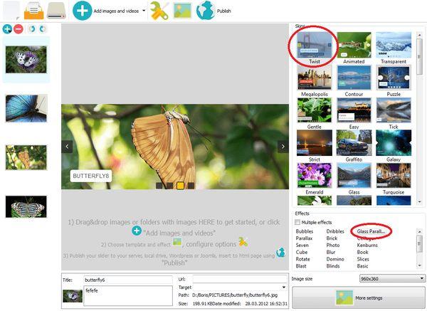 responsive html slider