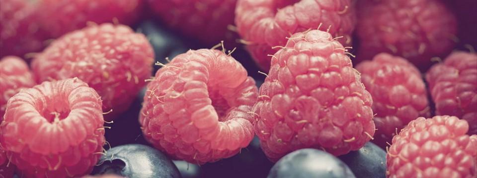 Raspberries slick slider example