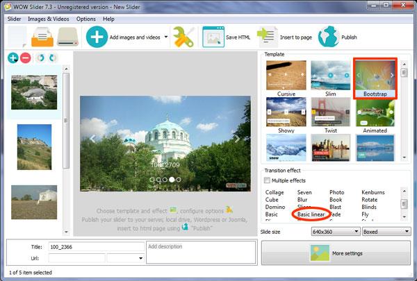 full screen bootstrap 4 slider