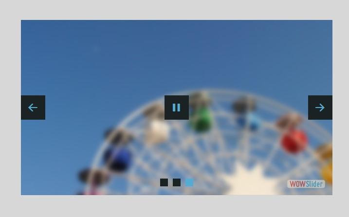 full screen carousel