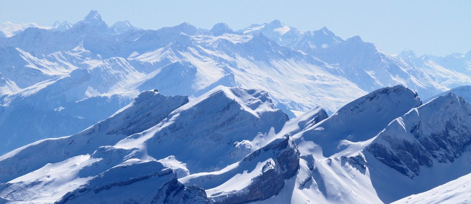Mountain Landscape : responsive slider jquery