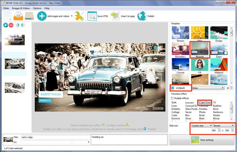 wordpress slideshow